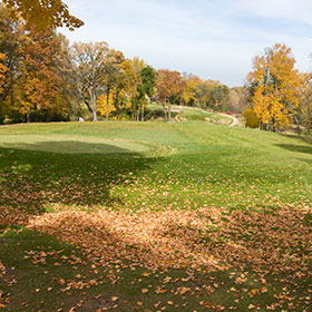Hole 7 at Burl Oaks Golf Club
