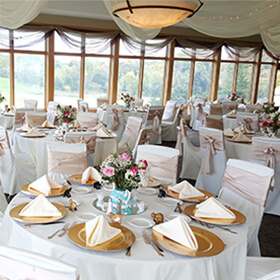 Event venue at Burl Oaks Golf Club in Minnetrista, MN